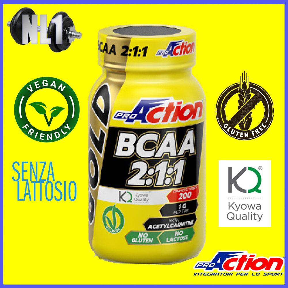 GOLD BCAA 2:1:1 [200 CPR] PROACTION