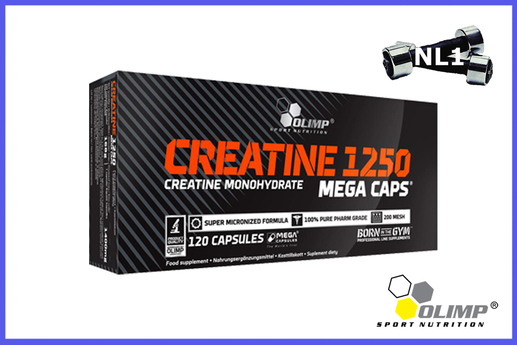 CREATINE 1250 [120 CAPS] - OLIMP