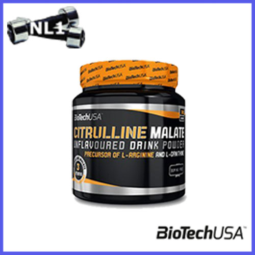 CITRULLINE MALATE [300 G] - BioTech USA