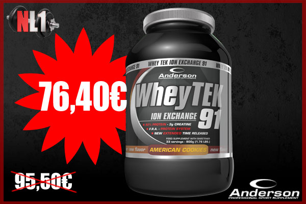 WHEY TEK 91 Ion Exchange